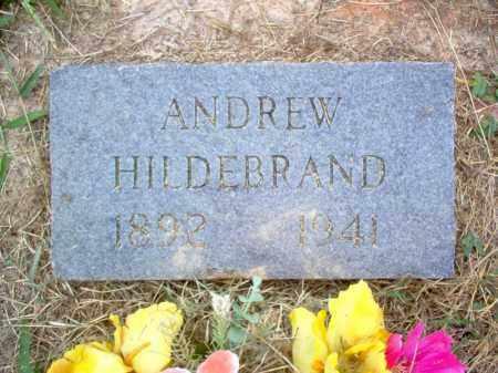 HILDEBRAND, ANDREW - Cross County, Arkansas | ANDREW HILDEBRAND - Arkansas Gravestone Photos