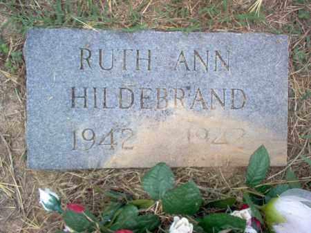 HILDEBRAND, RUTH ANN - Cross County, Arkansas | RUTH ANN HILDEBRAND - Arkansas Gravestone Photos