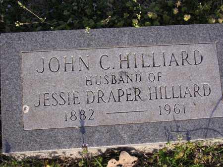 HILLIARD, JOHN C - Cross County, Arkansas   JOHN C HILLIARD - Arkansas Gravestone Photos