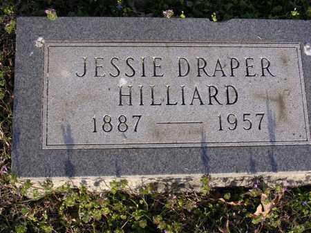 HILLIARD, JESSIE - Cross County, Arkansas | JESSIE HILLIARD - Arkansas Gravestone Photos