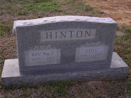HINTON, LOIS - Cross County, Arkansas | LOIS HINTON - Arkansas Gravestone Photos