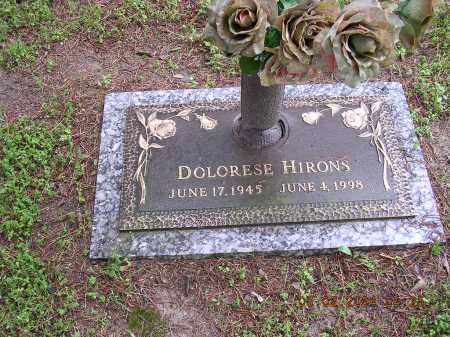 HIRONS, DOLORESE - Cross County, Arkansas | DOLORESE HIRONS - Arkansas Gravestone Photos