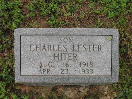 HITER, CHARLES LESTER - Cross County, Arkansas | CHARLES LESTER HITER - Arkansas Gravestone Photos