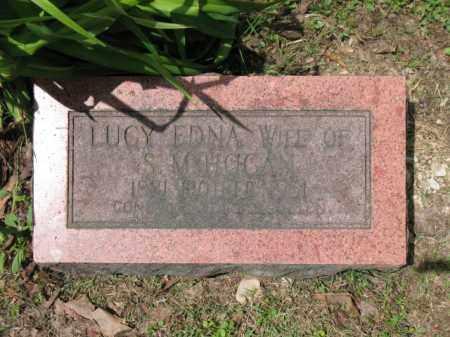 HOGAN, LUCY EDNA - Cross County, Arkansas | LUCY EDNA HOGAN - Arkansas Gravestone Photos