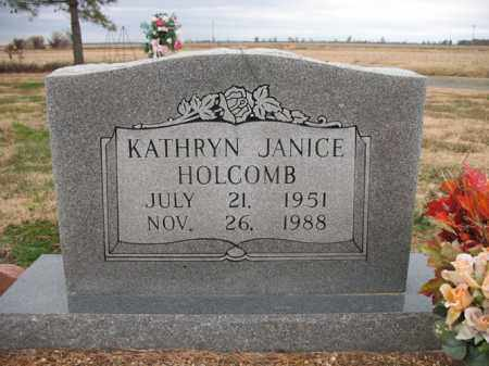 HOLCOMB, KATHRYN JANICE - Cross County, Arkansas   KATHRYN JANICE HOLCOMB - Arkansas Gravestone Photos