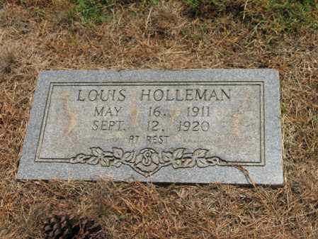 HOLLEMAN, LOUIS - Cross County, Arkansas | LOUIS HOLLEMAN - Arkansas Gravestone Photos