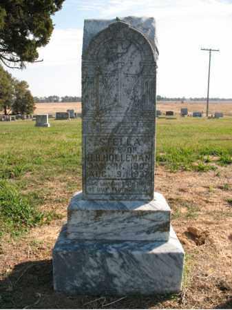 HOLLEMAN, STELLA - Cross County, Arkansas | STELLA HOLLEMAN - Arkansas Gravestone Photos