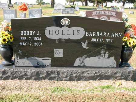HOLLIS, BOBBY J - Cross County, Arkansas | BOBBY J HOLLIS - Arkansas Gravestone Photos