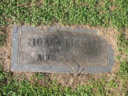 HOLMES, FLO ANN - Cross County, Arkansas | FLO ANN HOLMES - Arkansas Gravestone Photos
