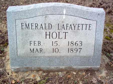 HOLT, EMERALD LAFAYETTE - Cross County, Arkansas   EMERALD LAFAYETTE HOLT - Arkansas Gravestone Photos