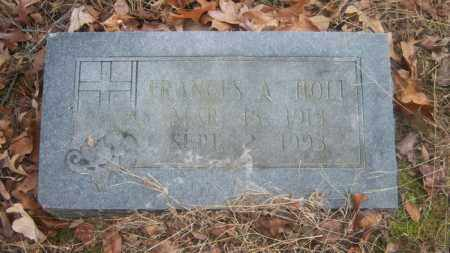 HOLT, FRANCES A - Cross County, Arkansas | FRANCES A HOLT - Arkansas Gravestone Photos