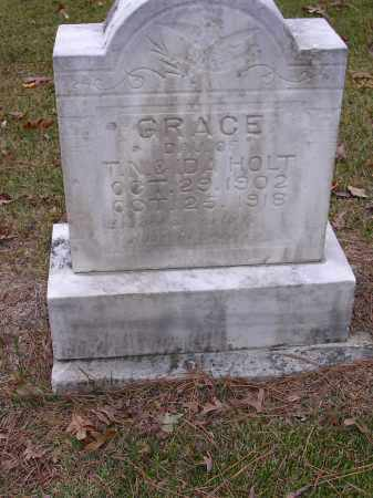 HOLT, GRACE - Cross County, Arkansas | GRACE HOLT - Arkansas Gravestone Photos