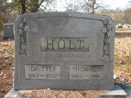 TYER HOLT, IDA - Cross County, Arkansas | IDA TYER HOLT - Arkansas Gravestone Photos