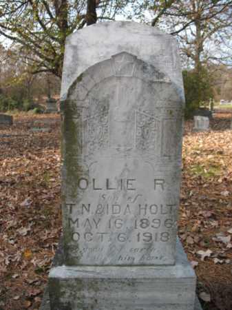 HOLT, OLLIE RUFUS - Cross County, Arkansas   OLLIE RUFUS HOLT - Arkansas Gravestone Photos