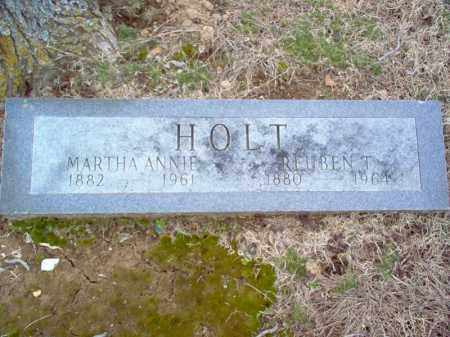 HOLT, MARTHA ANNIE - Cross County, Arkansas | MARTHA ANNIE HOLT - Arkansas Gravestone Photos
