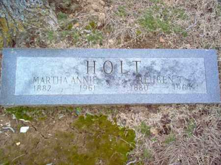 HOLT, REUBEN T - Cross County, Arkansas   REUBEN T HOLT - Arkansas Gravestone Photos