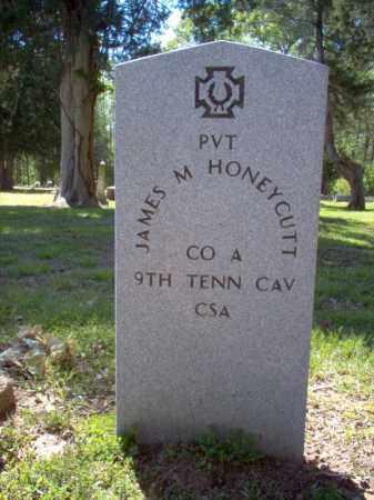 HONEYCUTT (VETERAN CSA), JAMES M - Cross County, Arkansas | JAMES M HONEYCUTT (VETERAN CSA) - Arkansas Gravestone Photos