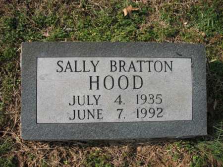 BRATTON HOOD, SALLY - Cross County, Arkansas | SALLY BRATTON HOOD - Arkansas Gravestone Photos