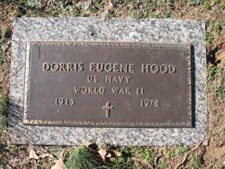 HOOD (VETERAN WWII), DORRIS EUGENE - Cross County, Arkansas   DORRIS EUGENE HOOD (VETERAN WWII) - Arkansas Gravestone Photos