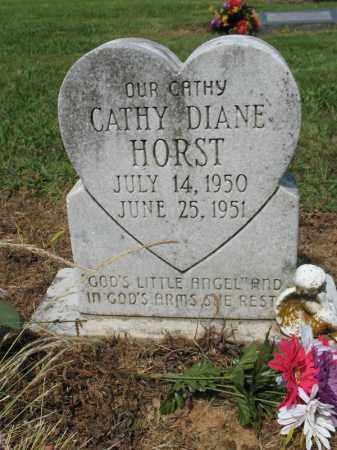 HORST, CATHY DIANE - Cross County, Arkansas | CATHY DIANE HORST - Arkansas Gravestone Photos