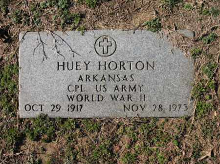 HORTON (VETERAN WWII), HUEY - Cross County, Arkansas | HUEY HORTON (VETERAN WWII) - Arkansas Gravestone Photos