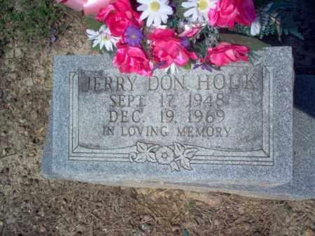 HOUK, JERRY DON - Cross County, Arkansas | JERRY DON HOUK - Arkansas Gravestone Photos