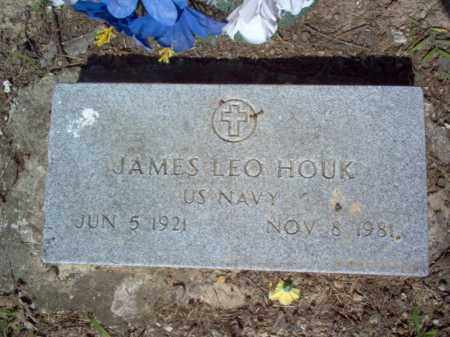 HOUK (VETERAN), JAMES LEO - Cross County, Arkansas   JAMES LEO HOUK (VETERAN) - Arkansas Gravestone Photos