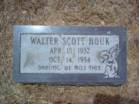 HOUK, WALTER SCOTT - Cross County, Arkansas   WALTER SCOTT HOUK - Arkansas Gravestone Photos