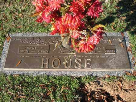 HOUSE, IMA BEATRICE - Cross County, Arkansas   IMA BEATRICE HOUSE - Arkansas Gravestone Photos