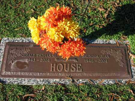 HOUSE, SAUNDRA JEAN - Cross County, Arkansas | SAUNDRA JEAN HOUSE - Arkansas Gravestone Photos