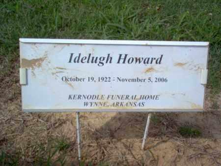 HOWARD, IDELUGH - Cross County, Arkansas | IDELUGH HOWARD - Arkansas Gravestone Photos