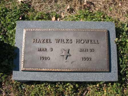 HOWELL, HAZEL - Cross County, Arkansas | HAZEL HOWELL - Arkansas Gravestone Photos