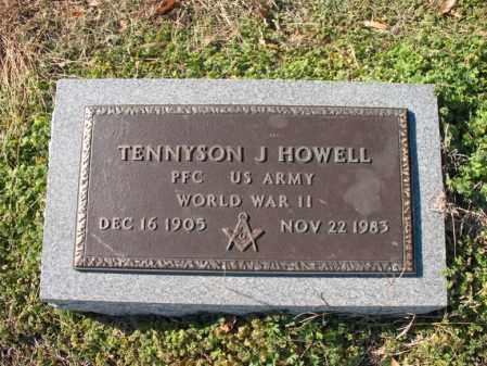 HOWELL (VETERAN WWII), TENNYSON J - Cross County, Arkansas | TENNYSON J HOWELL (VETERAN WWII) - Arkansas Gravestone Photos