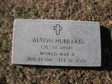 HUBBARD (VETERAN WWII), ALTON - Cross County, Arkansas   ALTON HUBBARD (VETERAN WWII) - Arkansas Gravestone Photos