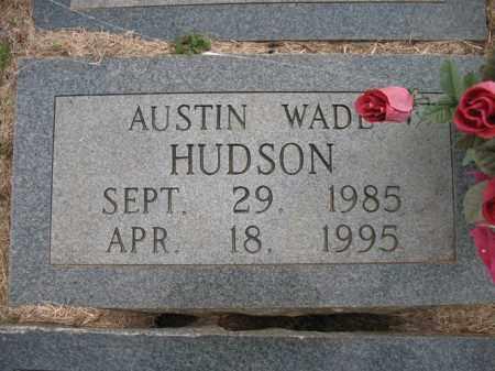 HUDSON, AUSTIN WADE - Cross County, Arkansas | AUSTIN WADE HUDSON - Arkansas Gravestone Photos