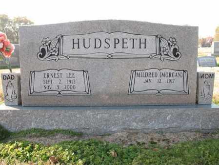 HUDSPETH, ERNEST LEE - Cross County, Arkansas   ERNEST LEE HUDSPETH - Arkansas Gravestone Photos