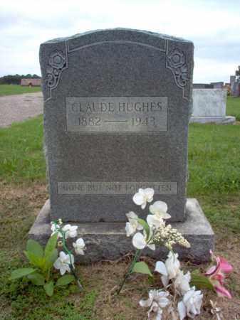 HUGHES, CLAUDE - Cross County, Arkansas | CLAUDE HUGHES - Arkansas Gravestone Photos