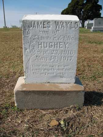 HUGHEY, JAMES WAYLO - Cross County, Arkansas | JAMES WAYLO HUGHEY - Arkansas Gravestone Photos