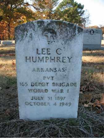 HUMPHREY (VETERAN WWI), LEE C - Cross County, Arkansas | LEE C HUMPHREY (VETERAN WWI) - Arkansas Gravestone Photos