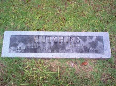 HUTCHINS, LUDIE - Cross County, Arkansas | LUDIE HUTCHINS - Arkansas Gravestone Photos