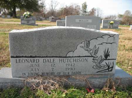 HUTCHISON, LEONARD DALE - Cross County, Arkansas | LEONARD DALE HUTCHISON - Arkansas Gravestone Photos