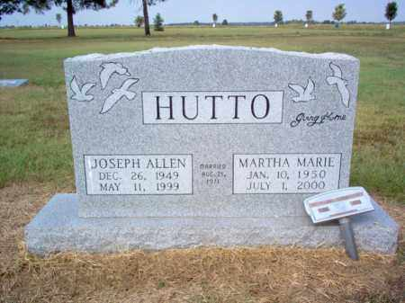HUTTO, JOSEPH ALLEN - Cross County, Arkansas | JOSEPH ALLEN HUTTO - Arkansas Gravestone Photos