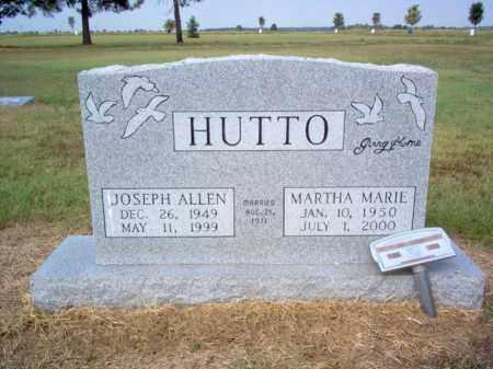 HUTTO, JOSEPH ALLEN - Cross County, Arkansas | JOSEPH ALLEN HUTTO - Arkansas Gravestone Photos