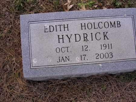 HYDRICK, EDITH - Cross County, Arkansas | EDITH HYDRICK - Arkansas Gravestone Photos