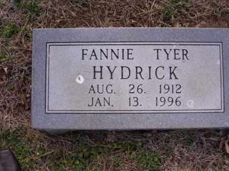 HYDRICK, FANNIE - Cross County, Arkansas   FANNIE HYDRICK - Arkansas Gravestone Photos