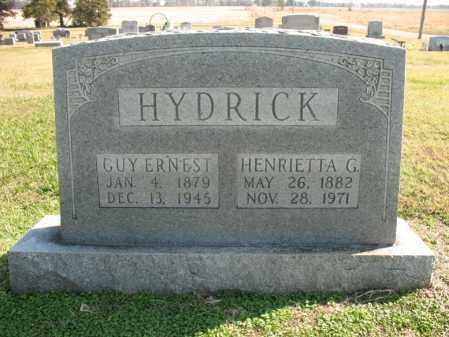 HYDRICK, HENRIETTA G - Cross County, Arkansas | HENRIETTA G HYDRICK - Arkansas Gravestone Photos