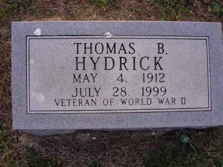 HYDRICK, THOMAS B - Cross County, Arkansas | THOMAS B HYDRICK - Arkansas Gravestone Photos