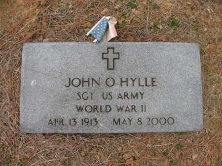 HYLLE (VETERAN WWII), JOHN O - Cross County, Arkansas   JOHN O HYLLE (VETERAN WWII) - Arkansas Gravestone Photos