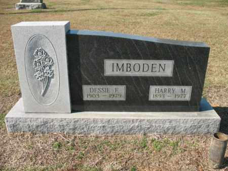IMBODEN, DESSIE F - Cross County, Arkansas | DESSIE F IMBODEN - Arkansas Gravestone Photos