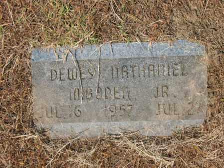 IMBODEN, JR., DEWEY NATHANIEL - Cross County, Arkansas   DEWEY NATHANIEL IMBODEN, JR. - Arkansas Gravestone Photos